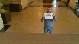 Day 65: Free Assange! justice4assange.com